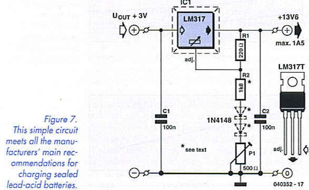 Sealed lead acid charging circuit arduino
