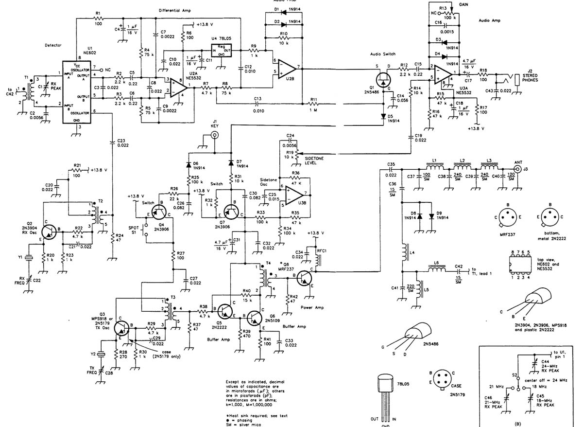Logitech Z906 Electrical Diagram Mic Wiring Gallery Qrptransceiverfor1821and24mhz Communicationcircuit
