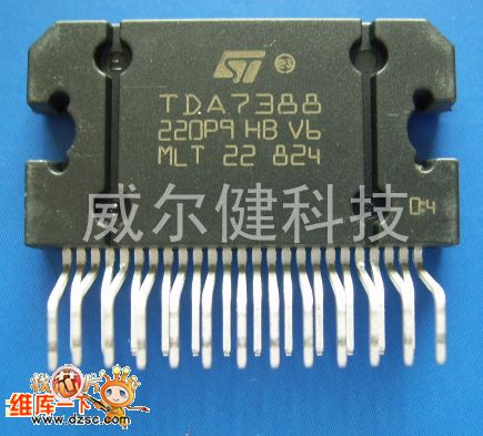 tda7388 ic basic circuit circuit diagram seekic com rh seekic com JFET  Diagram 74LS08 Diagram aad943d50c