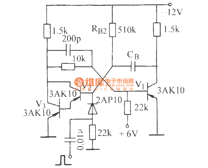 monostable circuit with longer transient stability time