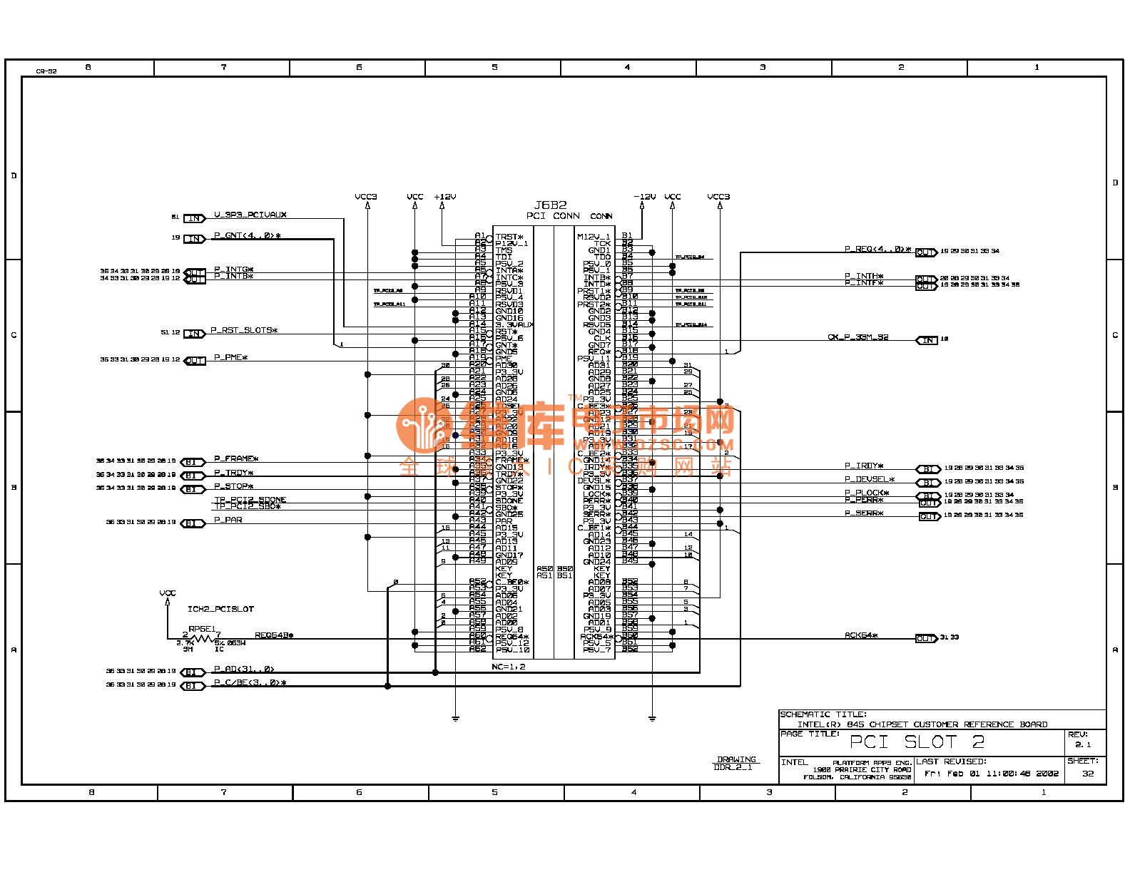 845ddr Computer Motherboard Circuit Diagram 32