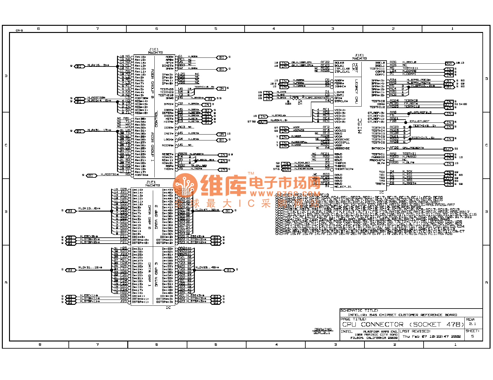 Computer Motherboard Circuit Diagram Trusted Schematics Asus A3f Laptop Block 845ddr 05 Monitor