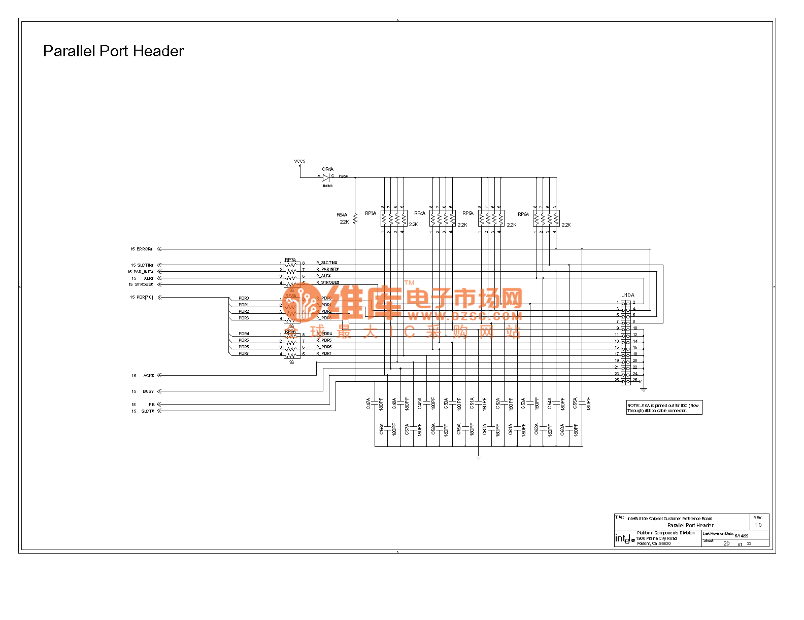 810e Computer Motherboard Circuit Diagram 20