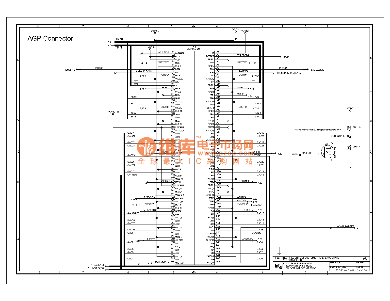 820e computer motherboard circuit diagram 19 - computer-related circuit