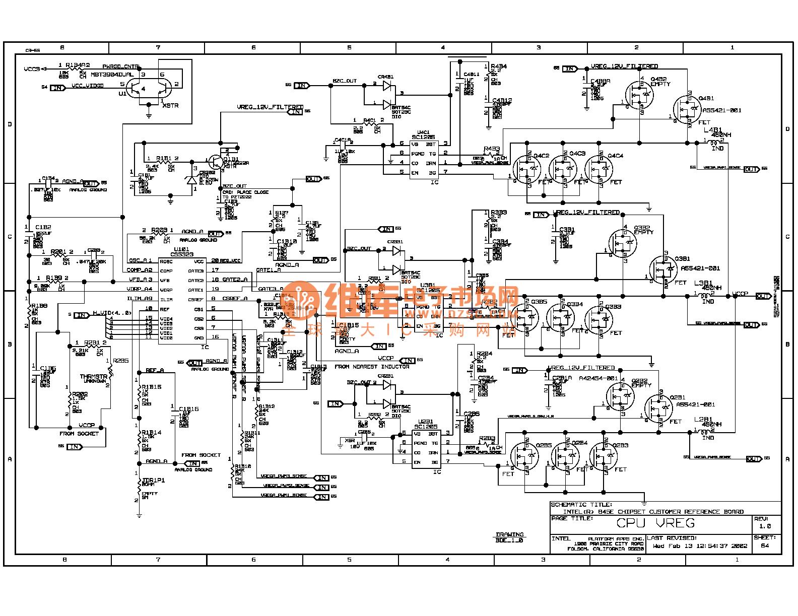 845e Computer Motherboard Circuit Diagram 65 0124vat1a Powersupplycircuit Seekiccom