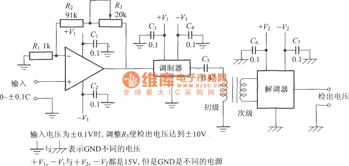 The Ac Voltage Measuring Circuit By Carrier Combination Lock 11 Controlcircuit Diagram Seekiccom