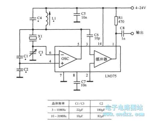 how to build crystal oscillator circuit