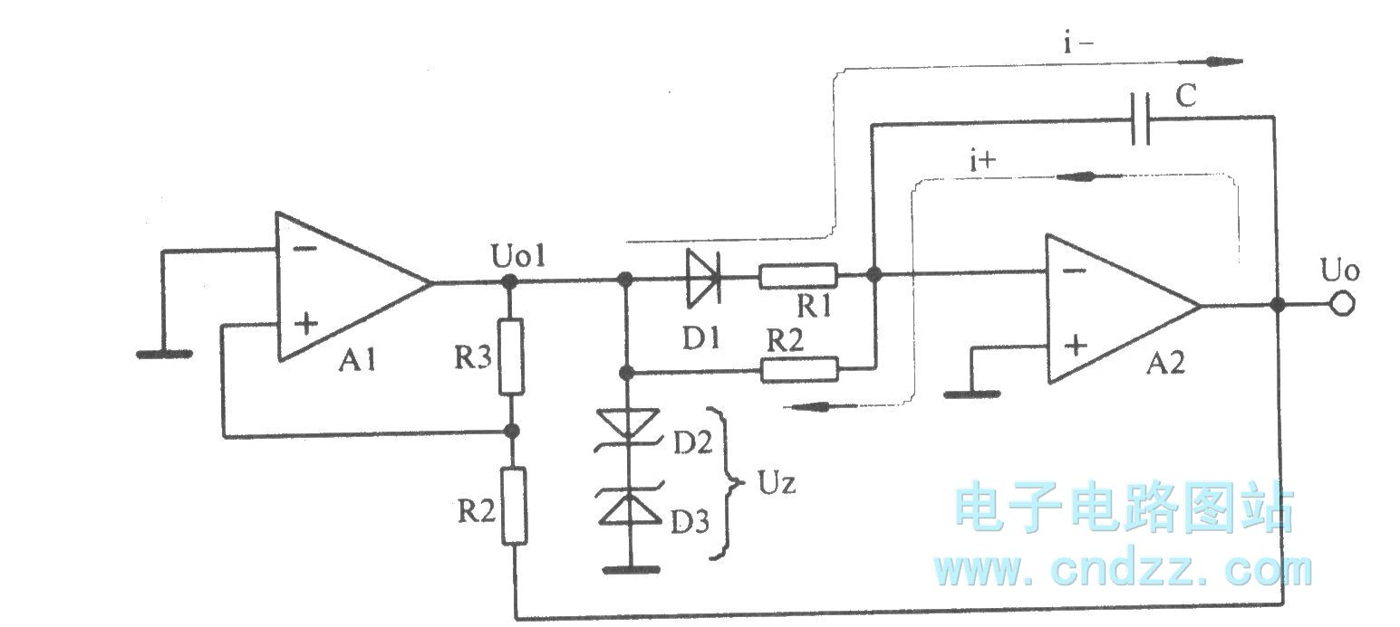 The Sawtooth Oscillator Composed Of Integral Circuit And Comparator Generator Circuits Basiccircuit Diagram Seekiccom