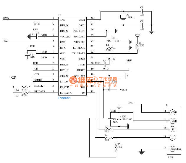 RS-485 module for Arduino MAX485