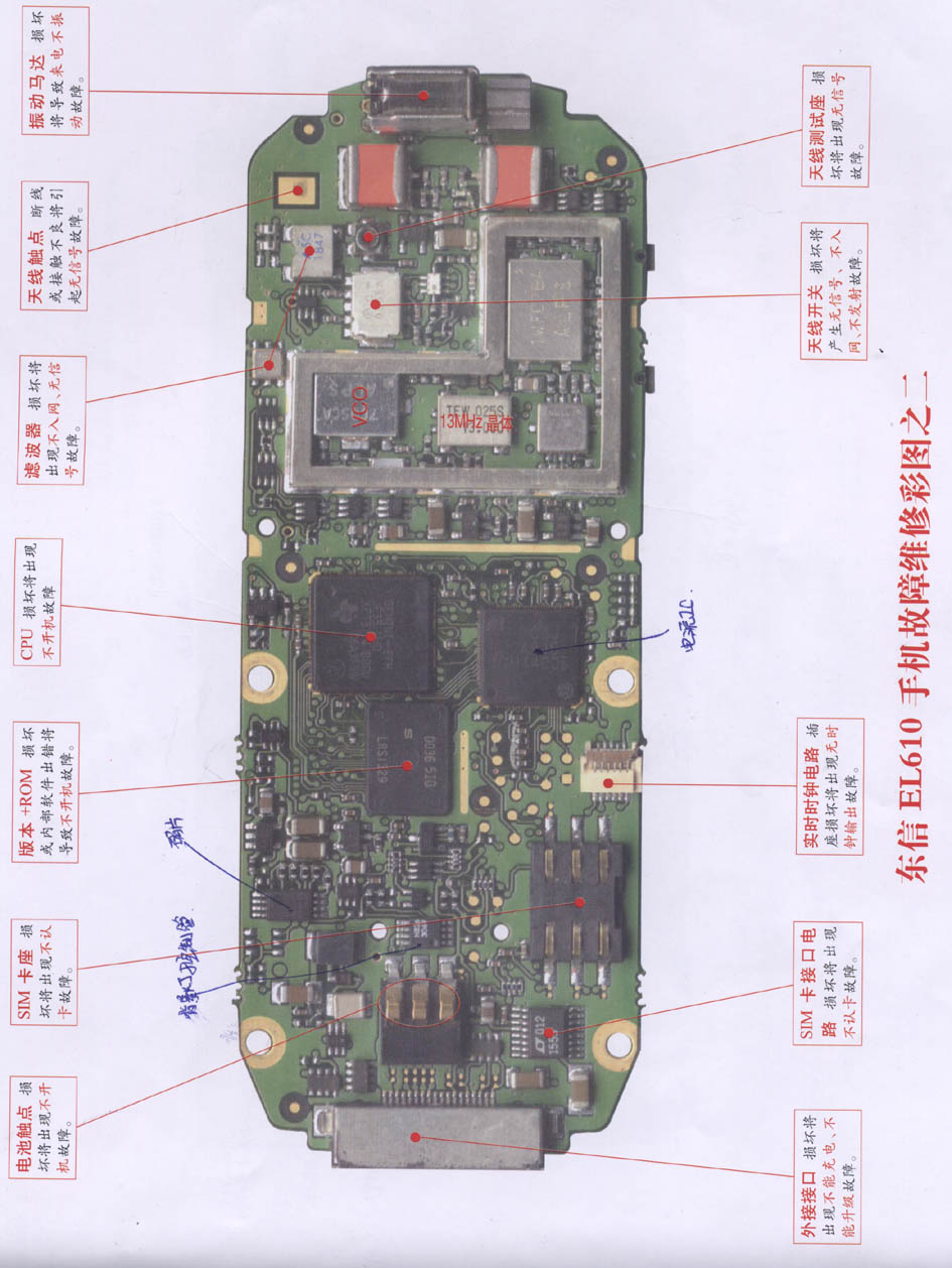 Eastcom El610 Mobile Phone Repairing Diagram 2 Combination Lock 11 Controlcircuit Circuit Seekiccom