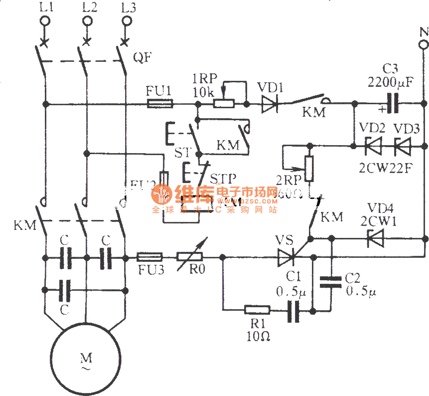 Scr Diagram http://www.seekic.com/circuit_diagram/Basic_Circuit/SCR_dynamic_braking_circuit_1.html