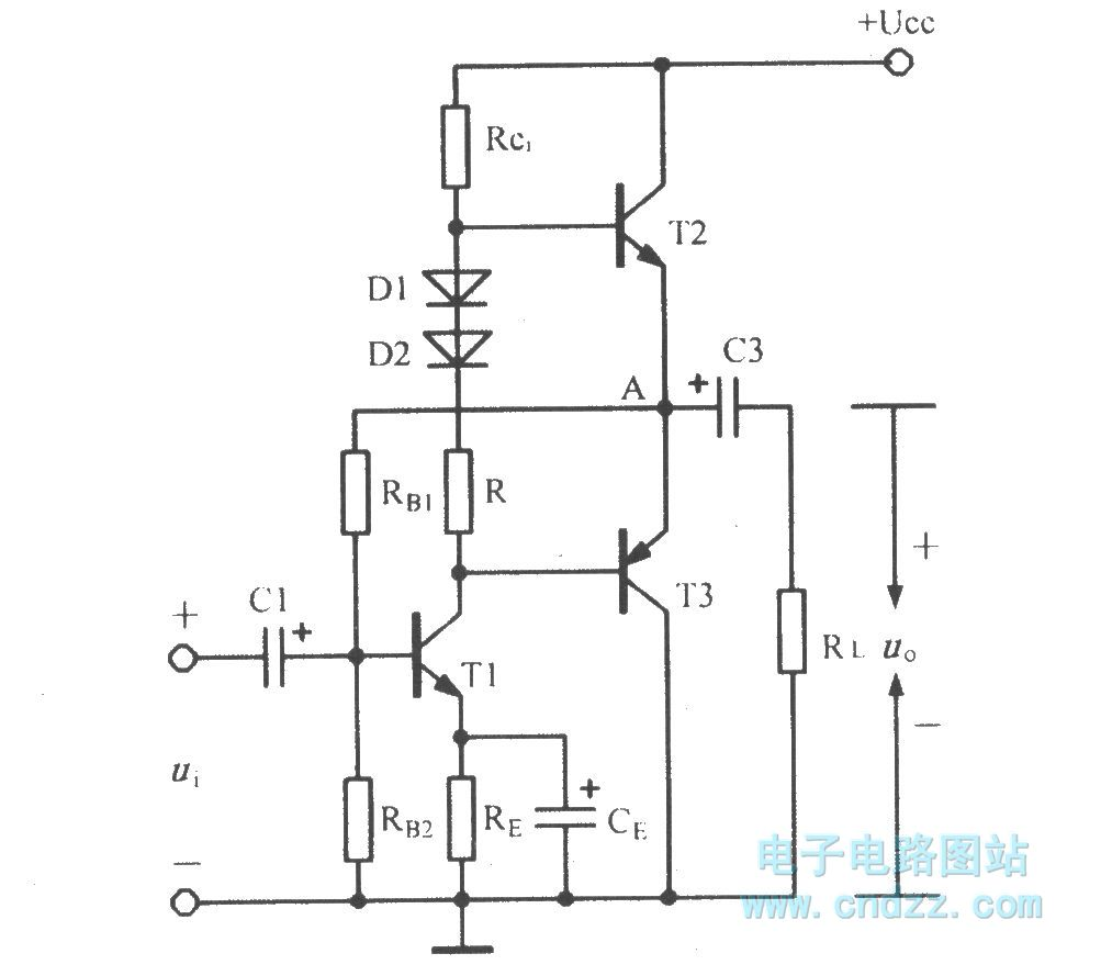 Single Supply Complementary Symmetry Circuit Basic