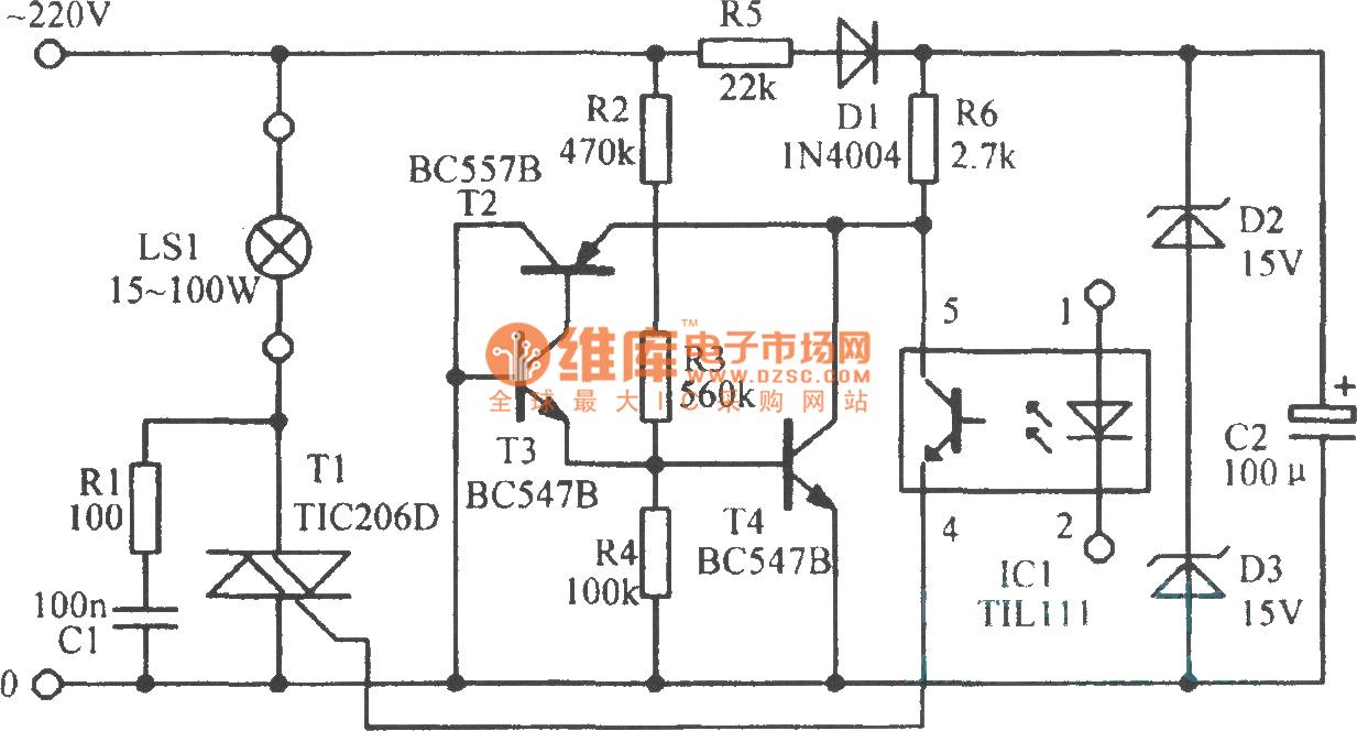 Led Signal Amplifier Circuit Diagram Circuitdiagram Ledandlightcircuit Ht7700touchingsteplessdimmer