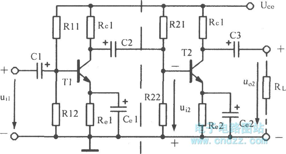rc -coupled amplifier - amplifier circuit