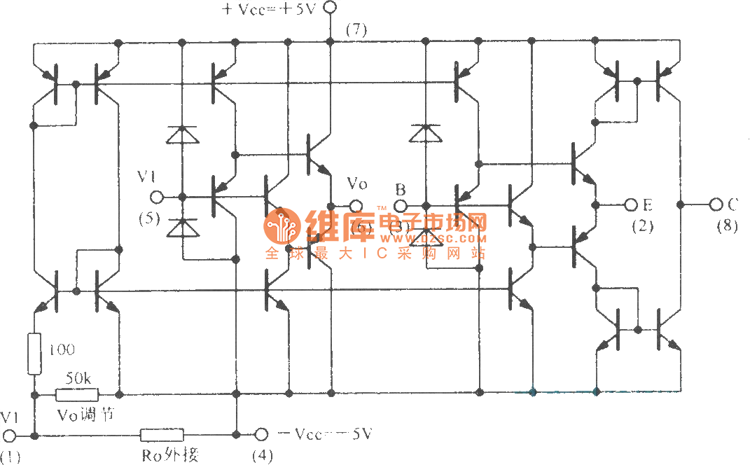 wideband operational transconductance amplifier buffer circuit rh seekic com Buffer Edge Diagram Buffer without Circuit Boards
