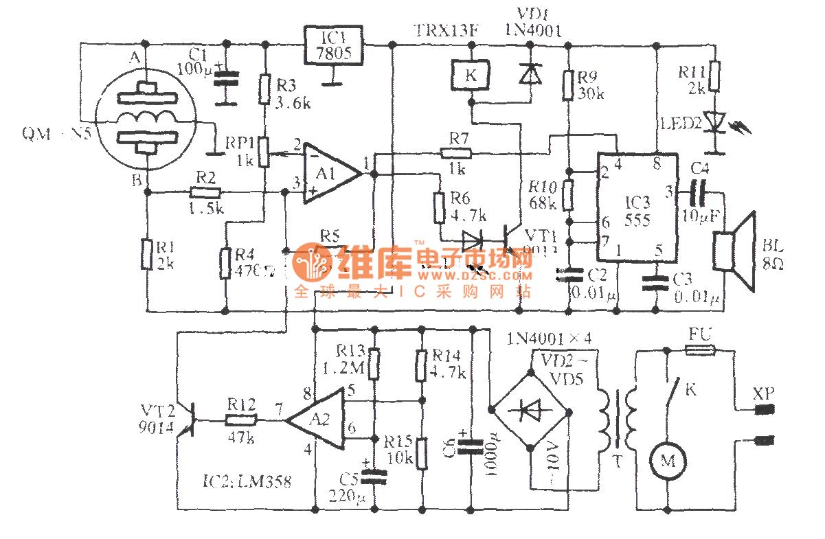 Automatic Kitchen Ventilator Circuit Electrical Equipment Index 994 Diagram Seekiccom
