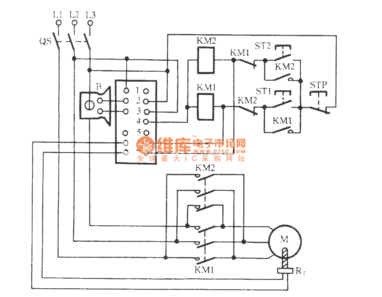qm9403 three phase motor protection circuit protection