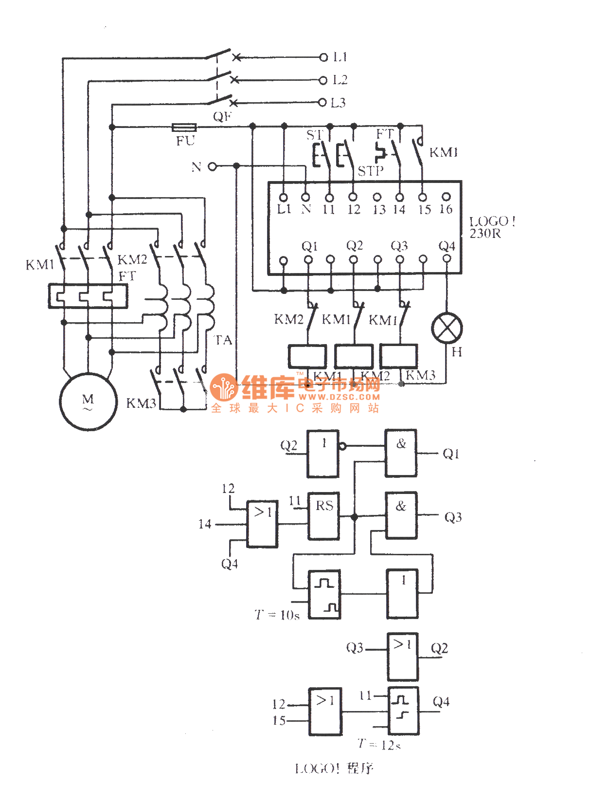 Logo Module Controlling Autotransformer Step Down Start Circuit Wiring Diagram Get Free Image About