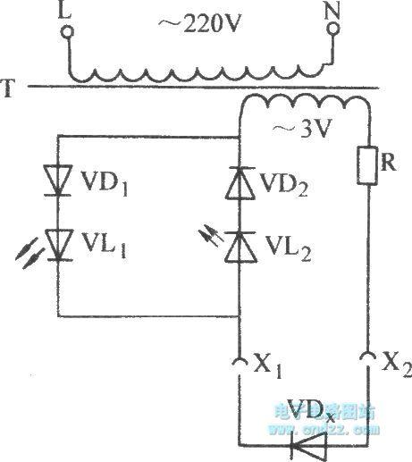 diode test circuit - control circuit