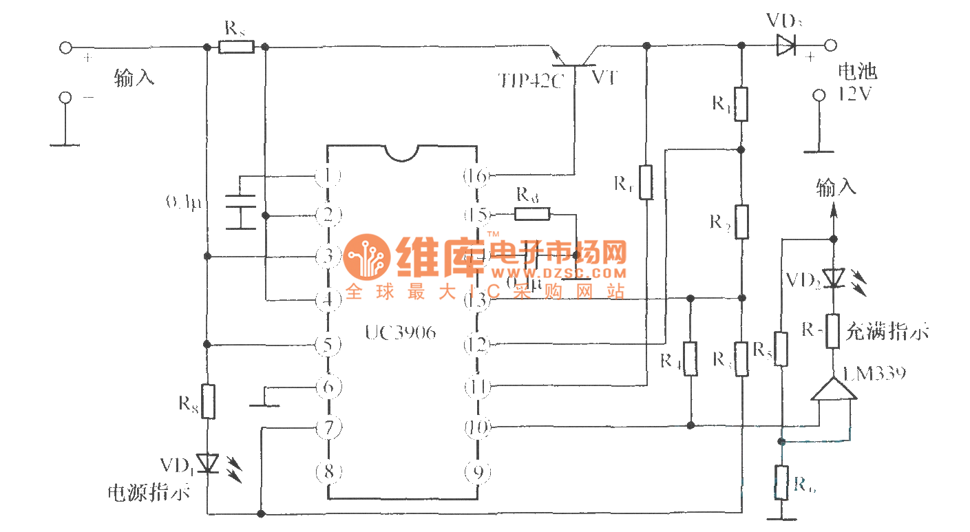 Lead Acid Battery Charging Trickle Charger Wiring Diagram The Circuit Of Sealed Valve Regulated Dual Level Float 1409x773