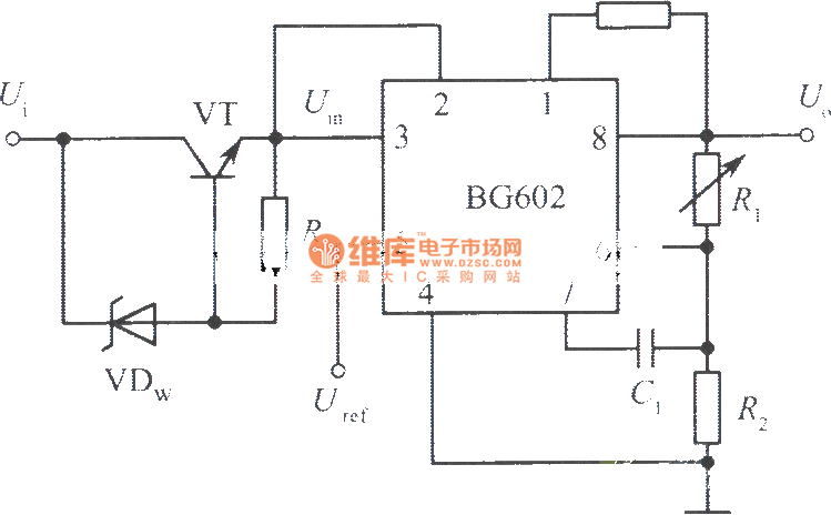 high input voltage integrated regulated voltage power