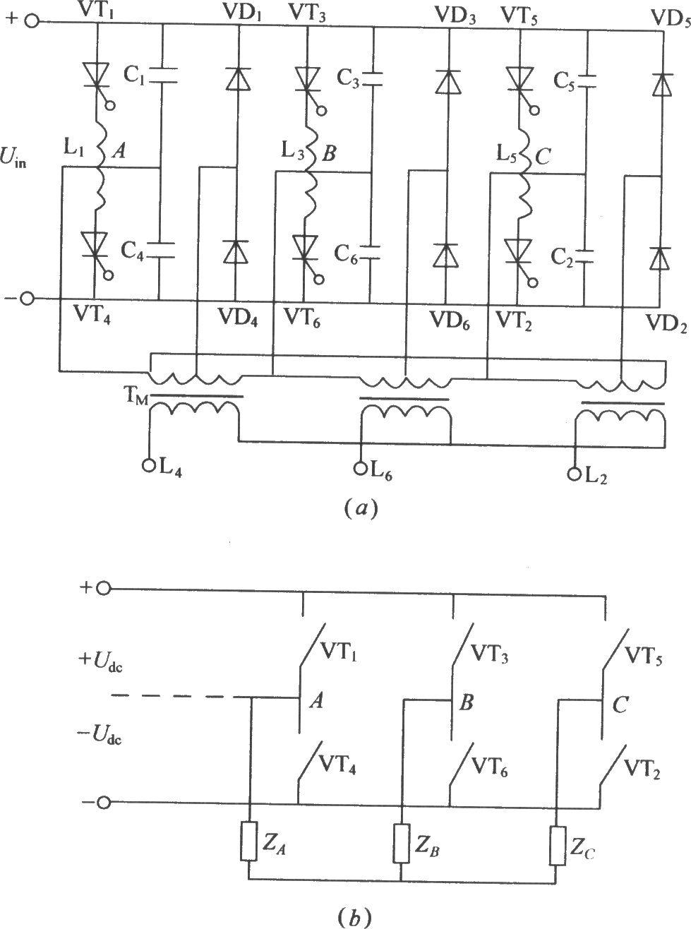 Three Phase Bridge Type Inverter Circuit Diagram Basic Lowcostlaserdiodedriver Basiccircuit Seekic