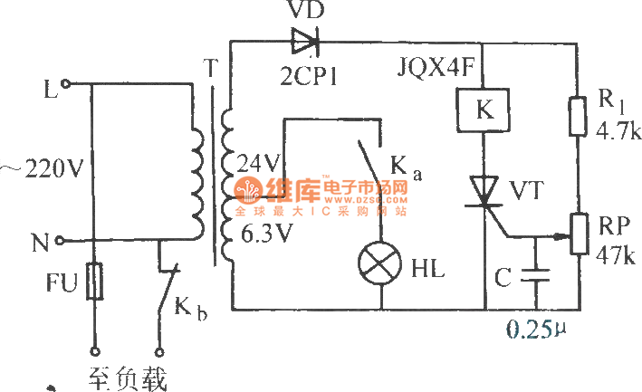 over-voltage protection circuit - protection circuit - control circuit