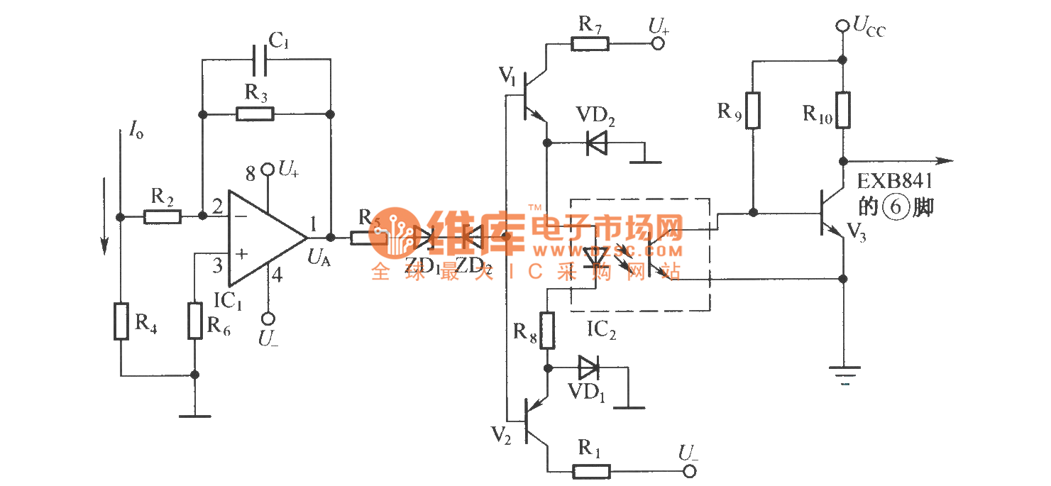 Protection Circuit Of Detection High Frequency Ac Current Short Diagram