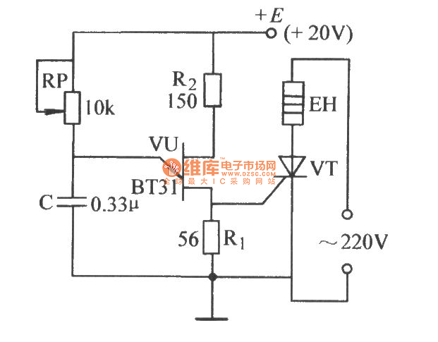 thyristor trigger circuit schematic diagram – readingrat, Wiring circuit