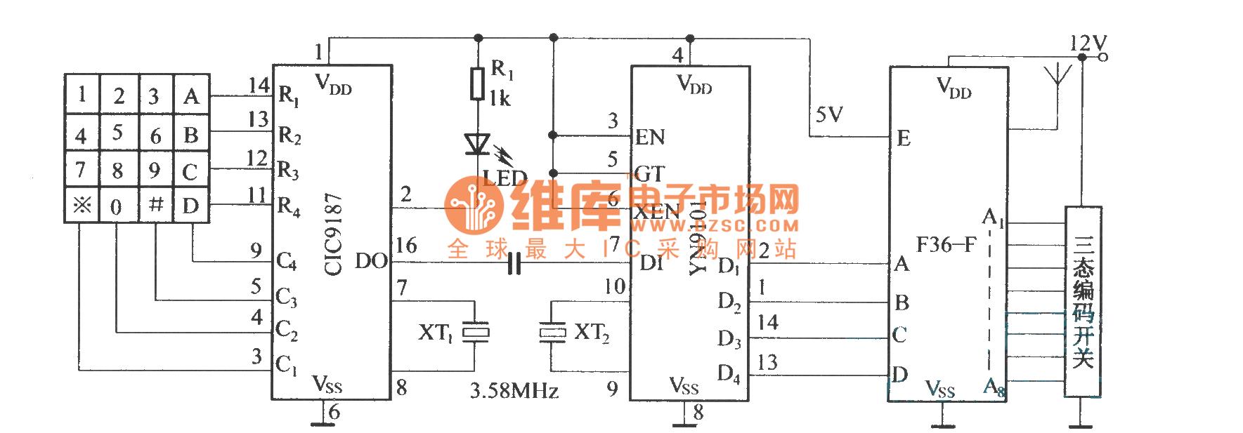 Digital Paging Systemf36 F F36 J Circuit Diagram Other Calibratedtachometer Basiccircuit Seekiccom