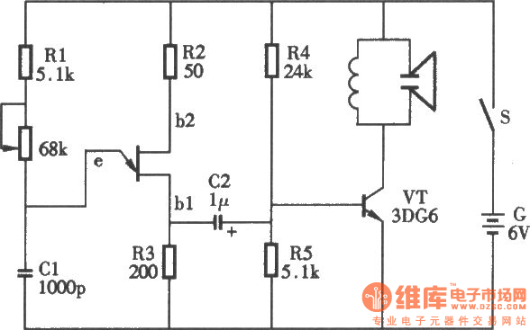 ultrasonic electronic rodent repeller circuit