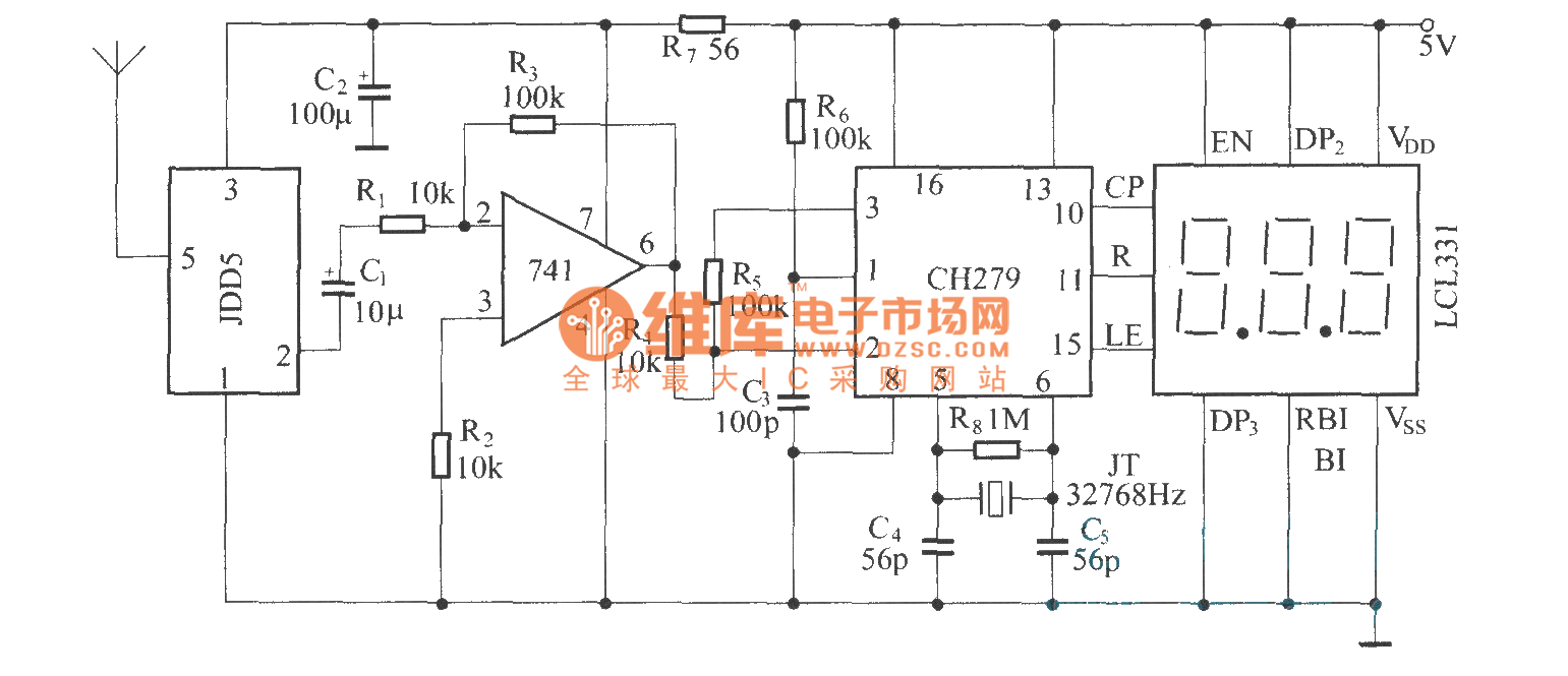 circuit circuit diagram seekic also electronic thermometer circuitdigital remote thermometer(fdd5 jdd5) circuit diagram circuit circuit diagram seekic also electronic thermometer circuit in