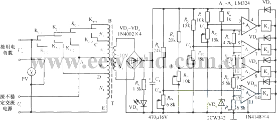 201141134757326 automatic ac voltage regulator power_supply_circuit circuit ac voltage regulator wiring diagram at n-0.co