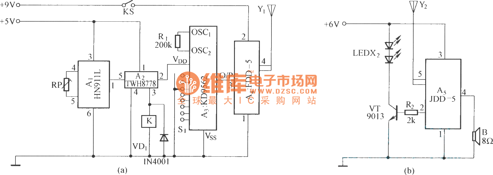 wireless alarm circuit basic alarm system circuit diagram wireless mic  circuit wireless charging circuit wireless control