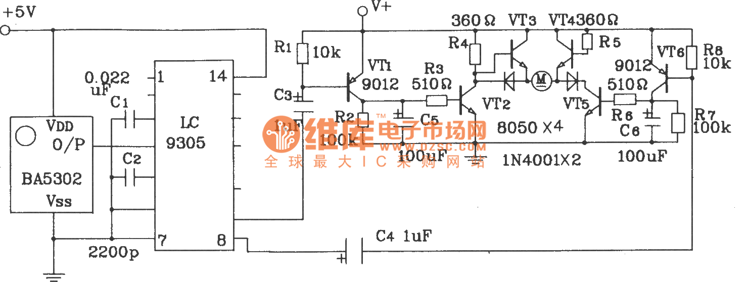 Lc9301 9305 Infrared Remote Control Emmitting And Receiving Http Wwwseekiccom Circuitdiagram Basiccircuit Analogcircuit Integrated Circuit Diagram