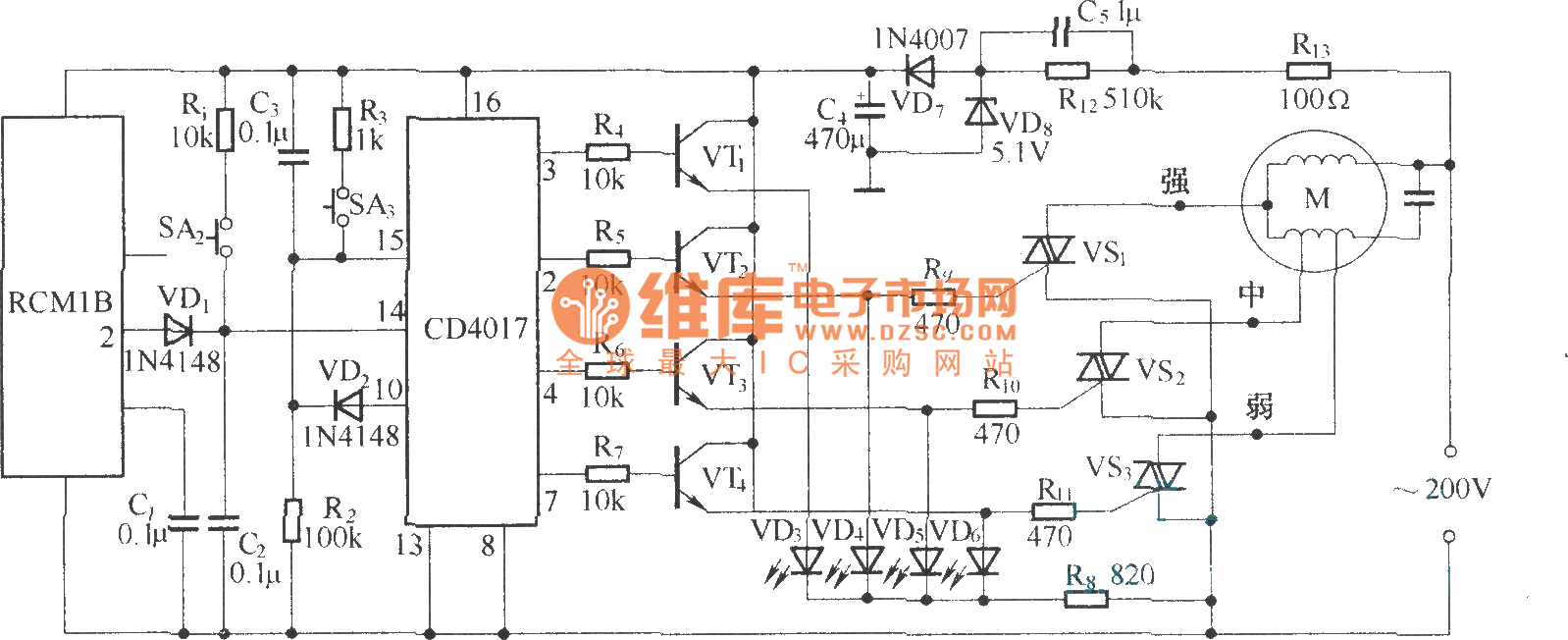 Circuit Diagram Remote Control Ceiling Fan Free Wiring For Model And Schematics Electronics Circuits Wireless Speed Controller Rcm1a Rh Seekic Com Gama Board