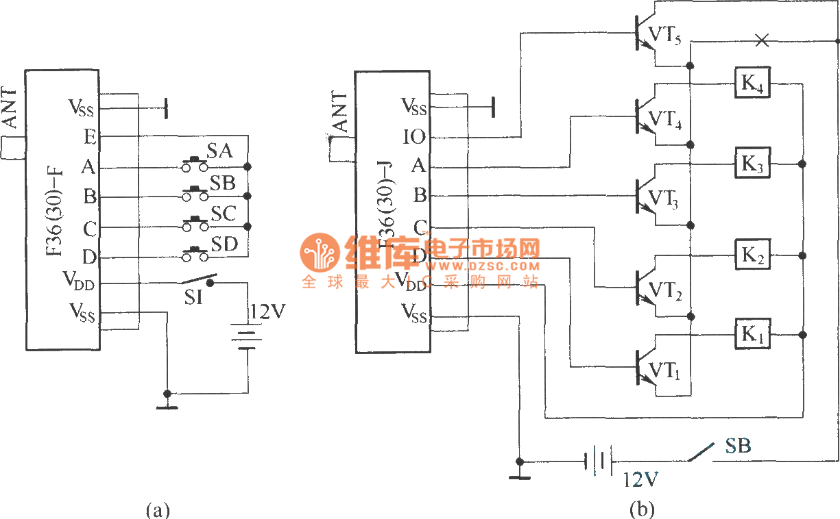 The Basic Radio Sr Circuit Diagram Composed Of F36 Fj Chopperforictester Basiccircuit Seekiccom