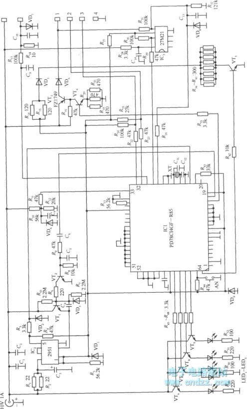 nokia 232 type mobile phone charger circuit - power supply circuit - circuit diagram