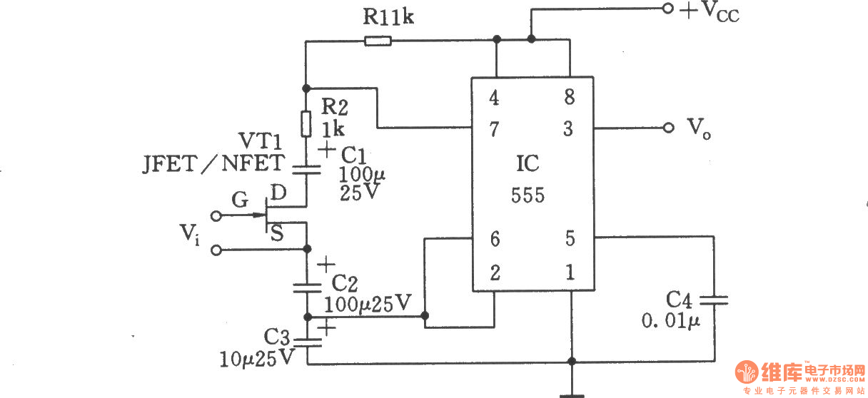 voltage-controlled duty cycle oscillator - oscillator circuit - signal processing
