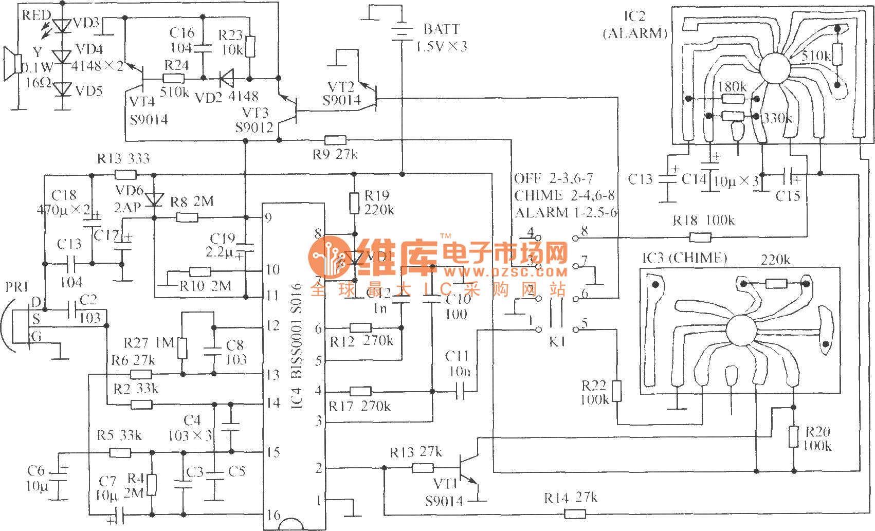 Bell Alarm Circuit Diagram Control Wwwseekiccom Circuitdiagram Amplifiercircuit Themixercircuit