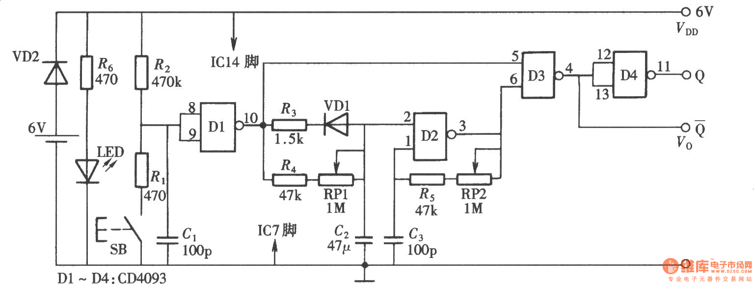 Led Pulse Modulation Circuit Diagram Ledandlightcircuit Zvspwm Dc Basiccircuit Seekiccom Pulsetrain Data Wiring