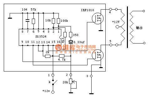led power supply schematic with Inverter Circuit 5 on Cd4017 besides Xor Gate Circuit Diagram besides Page150 additionally Motion Detector Alarm additionally Carregador De Baterias Por Gotejamento.