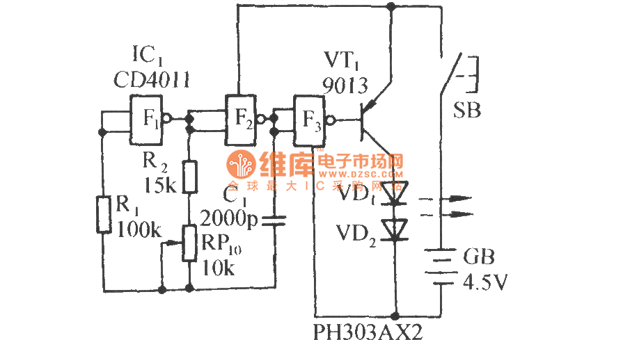 infrared remote control music outlet circuit diagram 2