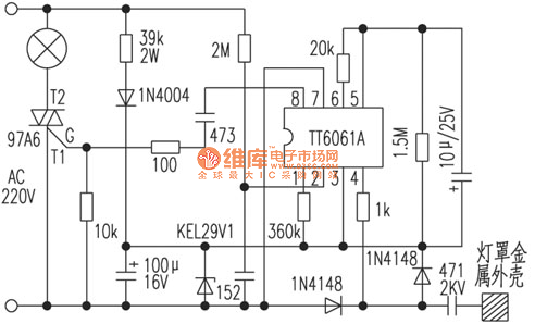 Novel touch switch table lamp circuit controlcircuit circuit novel touch switch table lamp circuit ccuart Gallery