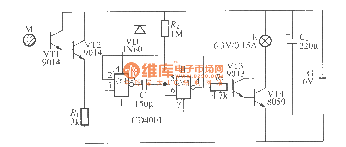box diagram besides touch l sensor circuit diagram besides touch light