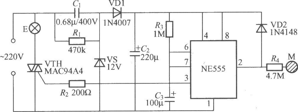 Сенсорный выключатель света 220в своими руками схемы
