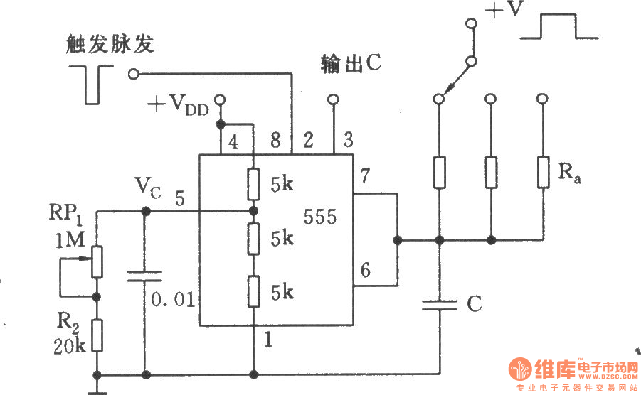 the precise timing circuit for correcting capacitor