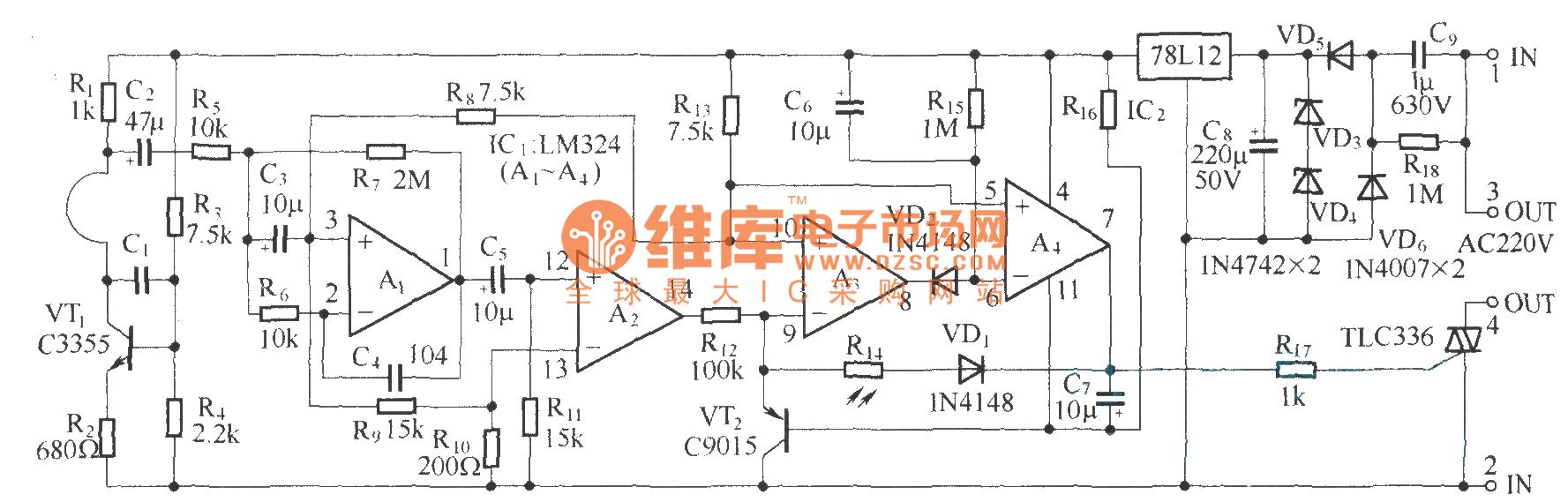 Kl3 Microwave Electronic Switching Circuit Diagram Basic