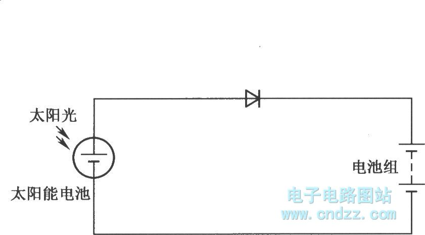 circuit of using solar to charge to battery - power supply circuit - circuit diagram