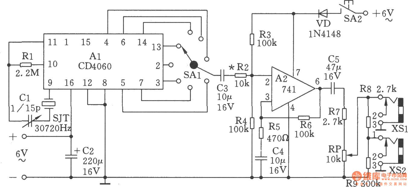 High And Low Frequency Noise Generator Schematic - Wiring Diagram Filter